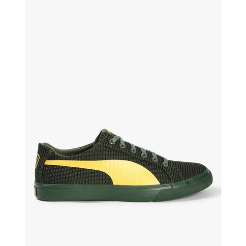Puma Rap Low Knit Idp Sneakers For Men(Olive)