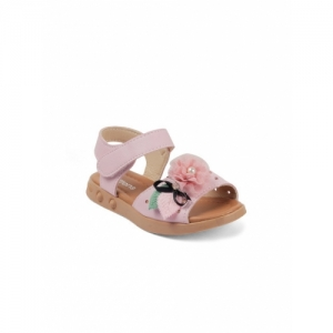 Kittens Pink Comfort Girls Sandals