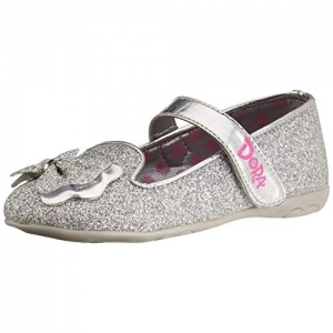 DORA Sliver Synthetic Girl's Flat Bellies