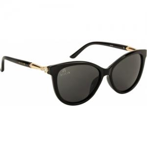 Aislin Black Eye Protection Stylist Oval Sunglasses
