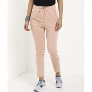 Puma Pink Polycotton Block Track Pants