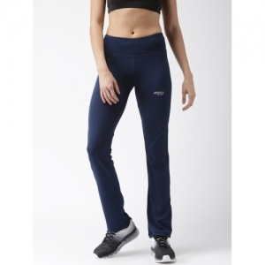 2GO Blue Spandex Solid Track Pants
