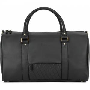 Billion Black Polyurethane 2 day Travel Duffel Bag
