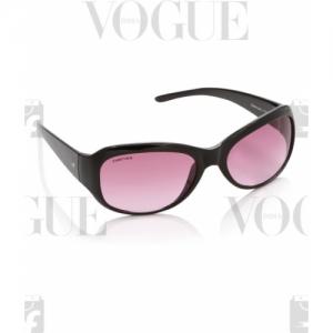 Fastrack Pink Stylist Oval Rectangular Sunglasses