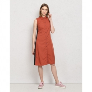1ed5958f58c Buy Crease   Clips Women s Shirt Yellow Dress online