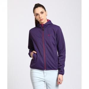 Wildcraft Purple Polycotton Full Sleeve Solid Jacket