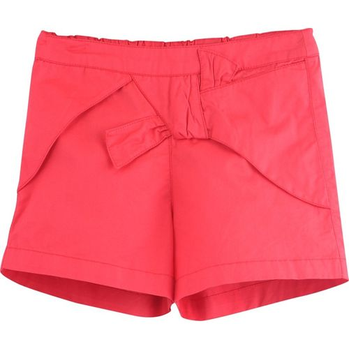 Beebay Short For Girls Casual Solid Pure Cotton(Red, Pack of 1)
