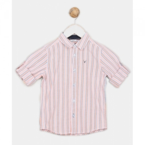 Allen Solly Boys Striped Casual Multicolor Shirt