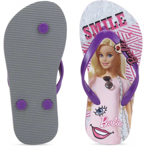 Barbie Multicolor Slip On Slipper Flip Flop