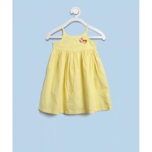 United Colors of Benetton Girls Midi/Knee Length Casual Dress