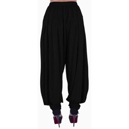 Shyie Solid Cotton Viscose Blend, Lycra Blend Women Harem Pants