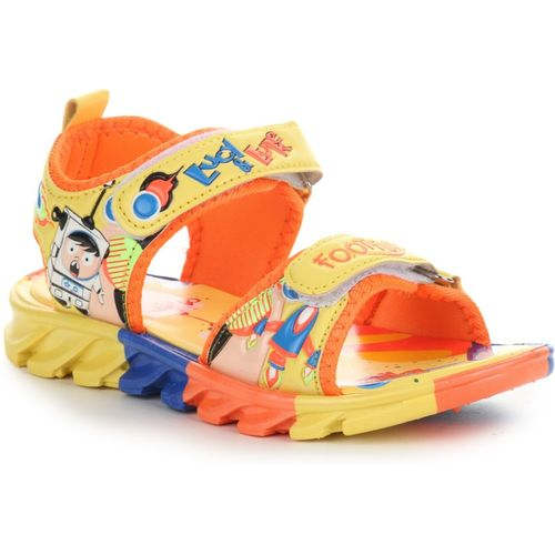 Liberty Boys Velcro Sports Sandals(Yellow)