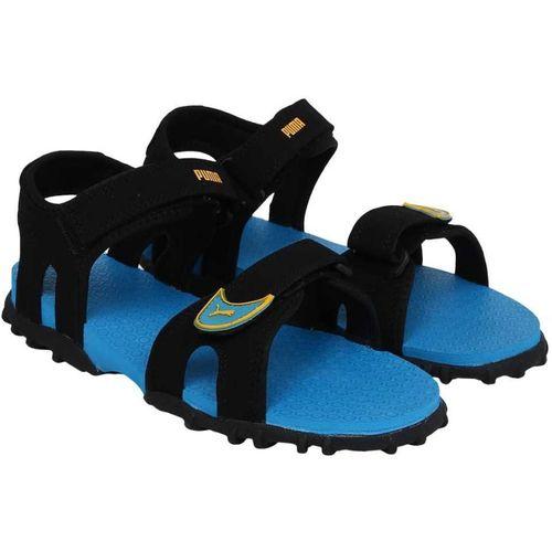Puma Blue Boys Velcro Sports Sandals