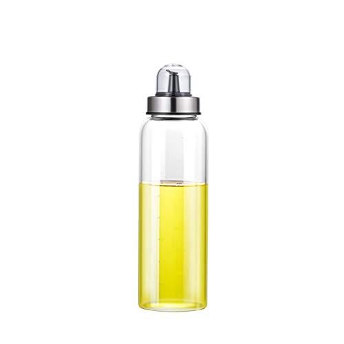 Femora Borosilicate Glass Fresh Plus Oil Jar Bottle for Kitchen Storage & Organizer- 500ml