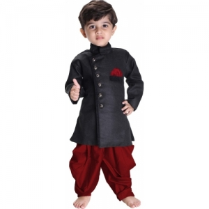 JBN Creation Boys Festive & Party Kurta and Pyjama Set