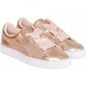 Puma Girls Lace Sneakers(Brown)