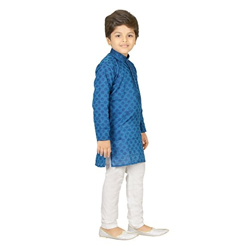 Boy's Ethnic Wear Cotton Kurta Payjama