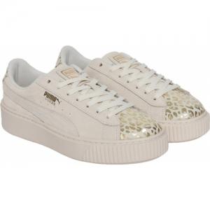 Puma Girls Lace Sneakers(Beige)