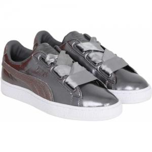 Puma Girls Lace Sneakers(Grey)