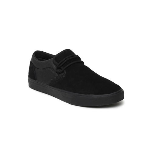 Supra Men Black CUBA Suede Sneakers