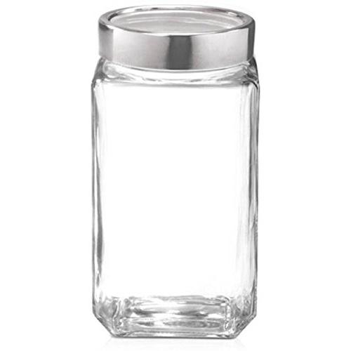 Treo By Milton Cube Jar 1000 ml,1PC Glassware
