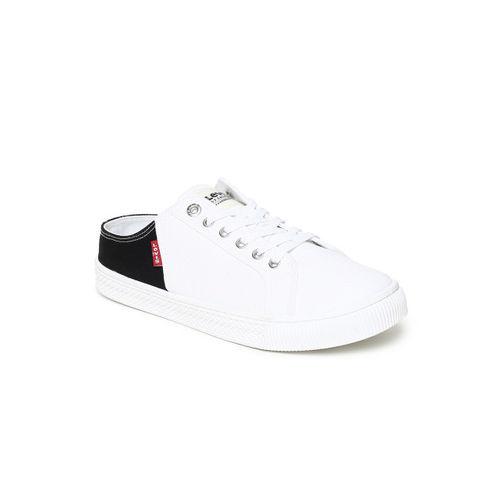Levis Men Black & White Colourblocked Sneakers