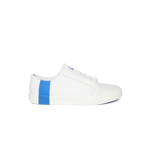 United Colors of Benetton Men White Sneakers