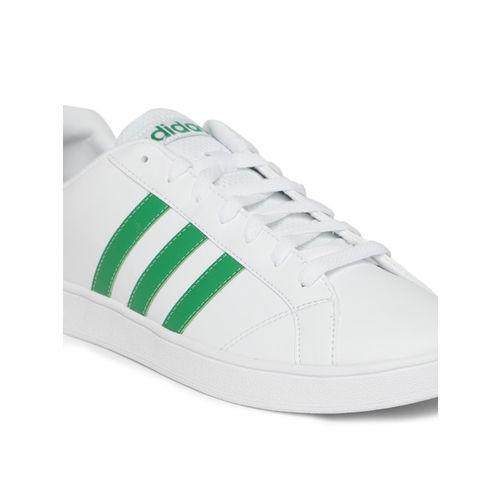 ADIDAS Men White VS ADVANTAGE Sneakers