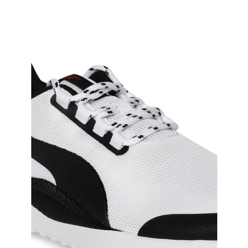 Puma Unisex White Pacer Next FS Sneakers