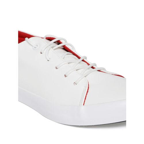 U.S. Polo Assn. Men White Sneakers