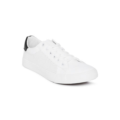 U.S. Polo Assn. Men White Ricky Sneakers