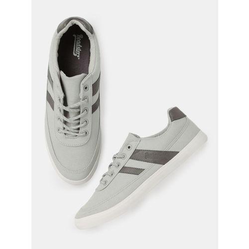Buy Roadster Men Grey Sneakers online