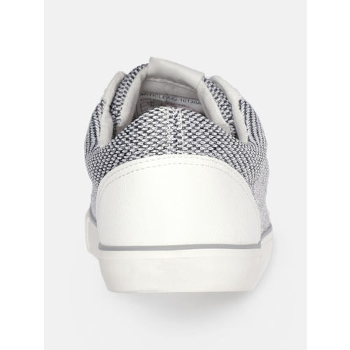 Roadster Men Grey & White Sneakers