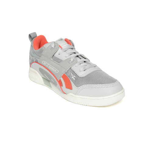 Reebok Classic Unisex Grey Workout Plus Alter The Icons 90s Sneakers