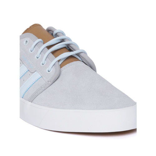 adidas Originals Mens Seeley Lace Up Casual Mid Top Trainers