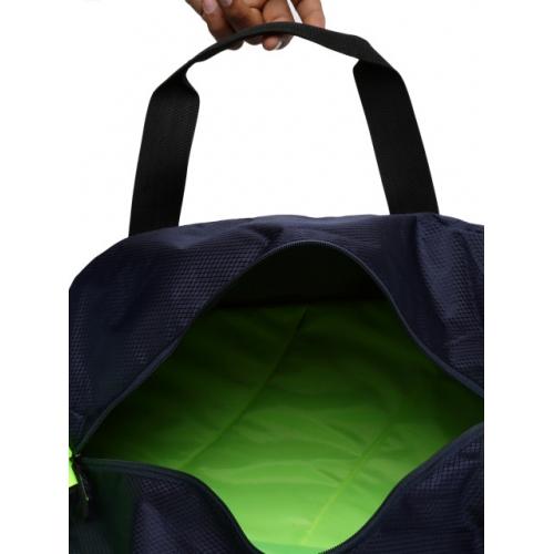 HRX by Hrithik Roshan Unisex Navy Printed Duffel Bag