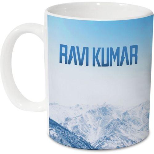 Hot Muggs Me Skies - Ravi Kumar Ceramic 350 ml, 1 Unit Ceramic Mug(350 ml)