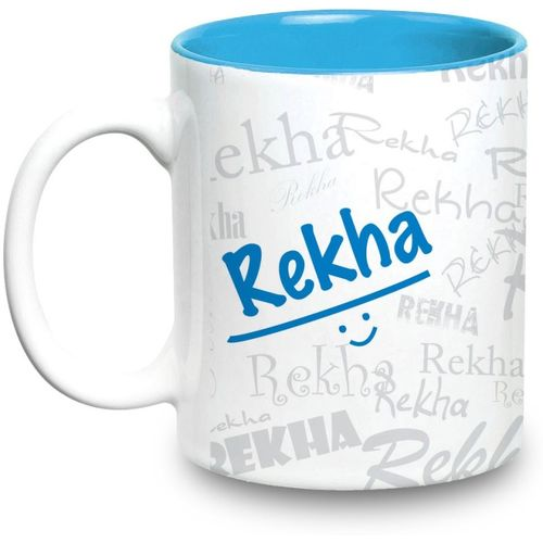 Hot Muggs Me Graffiti - Rekha Ceramic Mug(315 ml)