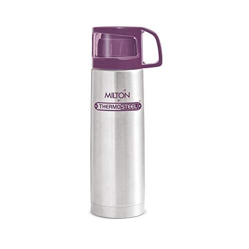 Milton Glassy Flask 500ml Vaccum Flasks - Purple