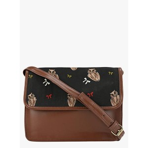 Berrypeckers Quirky Printed Leatherette Sling Bag