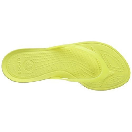 Crocs Parrot Green Rubber Flipflops