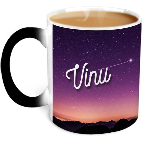 Hot Muggs You're the Magic Vinu Magic Ceramic Mug(315 ml)