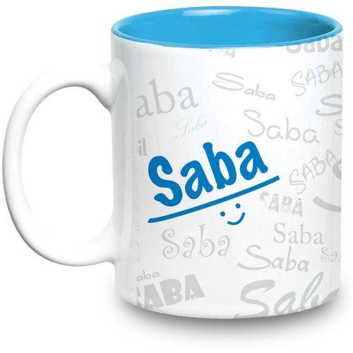 Hot Muggs Me Graffiti - Saba Ceramic Mug(315 ml)