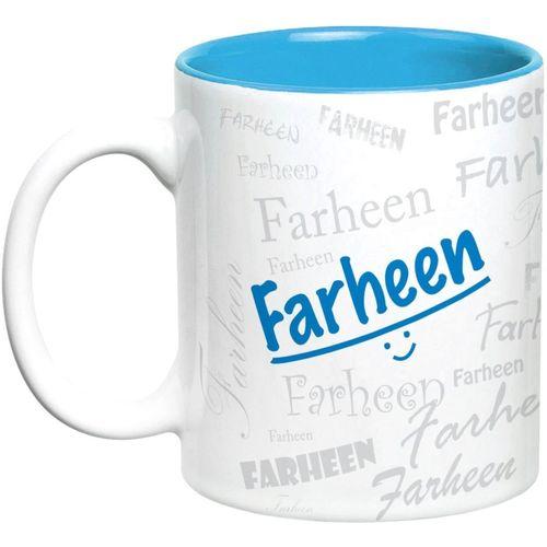 Hot Muggs Me Graffiti - Farheen Ceramic Mug(315 ml)