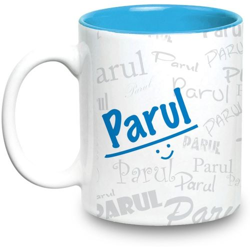 Hot Muggs Me Graffiti - Parul Ceramic Mug(315 ml)