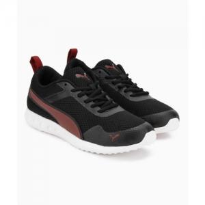c65605e977 Buy Slazenger Velociti Black Running Shoes For Men online | Looksgud.in