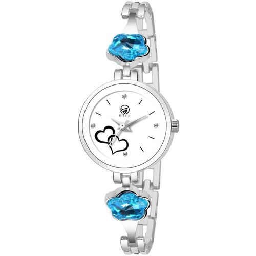Rizzly Mermaid Blossoms Designer Series Analog Watch - For Women