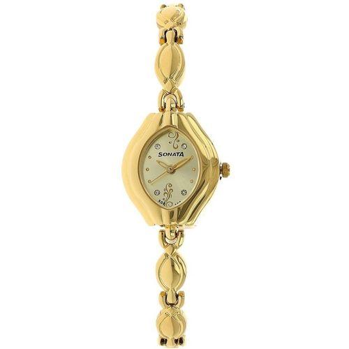 Sonata 87009YM02CJ Analog Watch - For Women