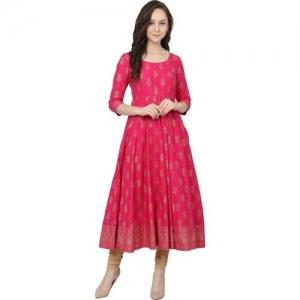a98aac84e Buy Poshak Women s Paisley Anarkali Kurta online