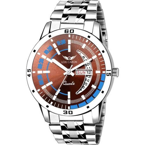 Lois Caron LCS-8101 DAY & DATE FUNCTIONING Analog Watch - For Men